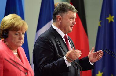 Порошенко надеется, что результатом переговоров в Берлине станет прекращение эскалации ситуации на Донбассе