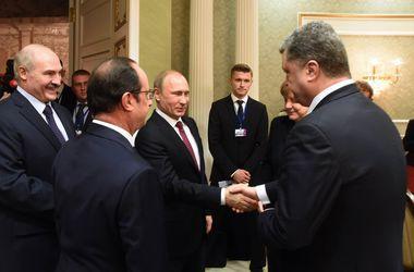 Порошенко и Путин могут встретиться до конца сентября – СМИ
