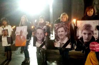 Погибших в результате теракта молодых харьковчан наградили орденами