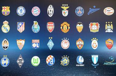 Онлайн жеребьевки группового этапа Лиги чемпионов 2015/2016