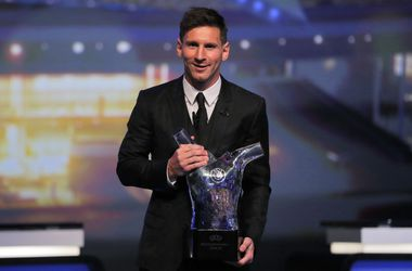 Лучшим футболистом прошлого сезона по версии УЕФА стал Лионель Месси