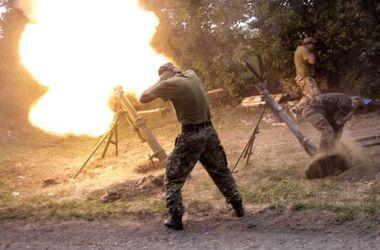 Боевики продолжают обстрел из минометов