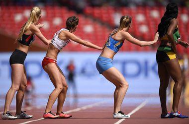 Украинки в финал в эстафете 4х100 на чемпионате мира не пробились