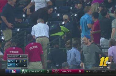 В США на бейсбольном матче погиб болельщик