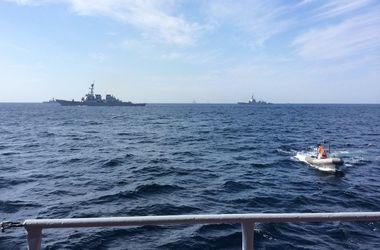 В Черном море стартуют масштабные международные учения