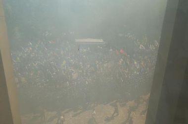 Милиция задержала активного дебошира под Радой