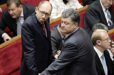 Яценюк и Порошенко проведут внеплановую встречу