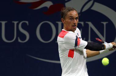 Александр Долгополов покинул US Open из-за травмы локтя