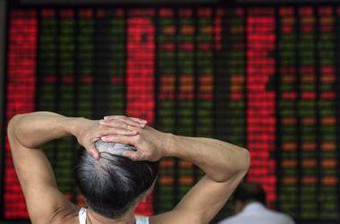 Шанхайская фондовая биржа рекордно обвалилась
