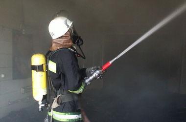 Торфяные пожары под Киевом: огонь тушат 65 спасателей