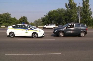В Днепропетровске гонки с гаишником закончились аварией