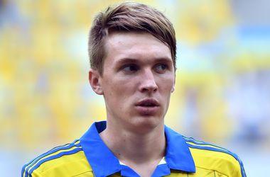 Сидорчук из-за травмы пропустит оба матча сборной Украины