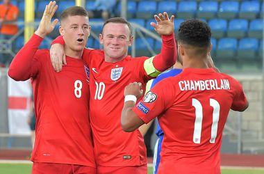Сборная Англии первой пробилась на Евро-2016