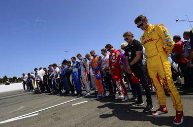 Перед стартом Гран-при Италии гонщики минутой молчания почтили память Джастина Уилсона
