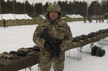 Под Харьковом военный подорвался на гранате