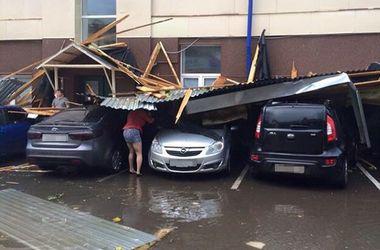 На татарстан обрушился мощный ураган