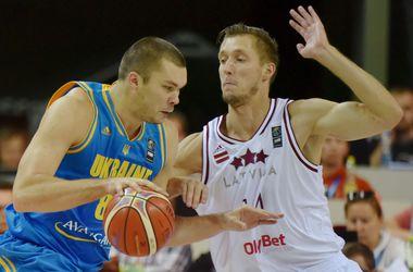 Украина одержала первую победу на Евробаскете-2015