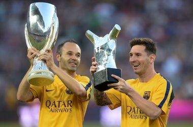 """""""Барселона"""" стала лучшей командой года по версии Ассоциации европейских клубов"""