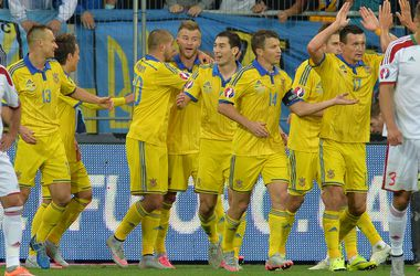 Сборная Украины поднялась на одну строчку в рейтинге УЕФА