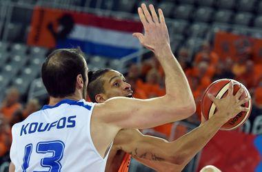 Сборная Греции вышла в четвертьфинал Евробаскета-2015