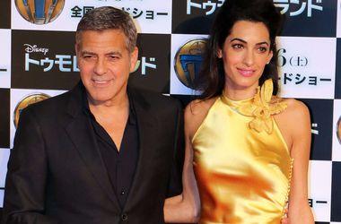Джордж Клуни боится за жизнь жены