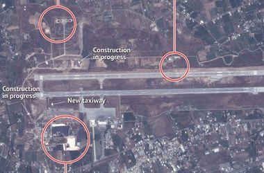США обнародовали спутниковые снимки российской военной базы в Сирии