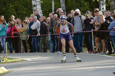 Экс-замминистра выиграла чемпионат Украины по биатлону