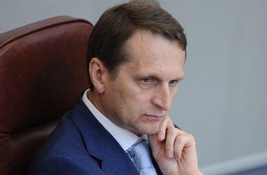 """Нарышкин назвал """"единственный ключ"""" для выполнения Минских договоренностей"""
