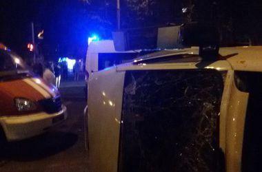 Страшное ДТП в Запорожье: маршрутка несколько раз перевернулась с пассажирами