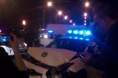 Жуткое ДТП в Ровно: милицейская машина столкнулась с иномаркой