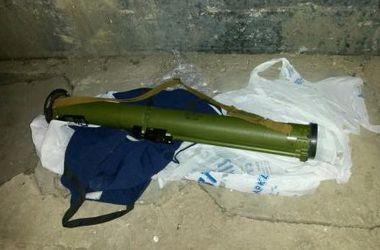 На маршруте кортежа Яценюка обнаружили боевой гранатомет