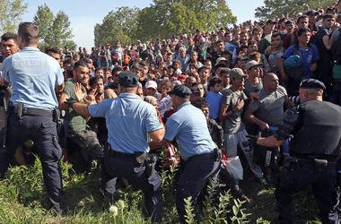 Хорватия начала свозить мигрантов к венгерской границе