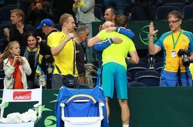Кубок Дэвиса: Украина вышла вперед в матче с Литвой