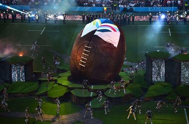 Красочная церемония открытия чемпионата мира по регби