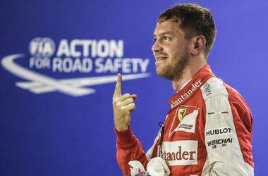 Себастьян Феттель выиграл квалификацию Гран-при Сингапура