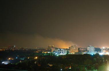 Ночью Одессу окутал едкий смог