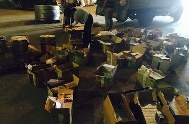 В Харьков везли контрабанду из РФ на 3 миллиона гривен