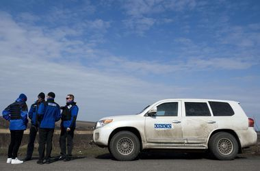 Боевики угрожали застрелить наблюдателей ОБСЕ на блокпосту