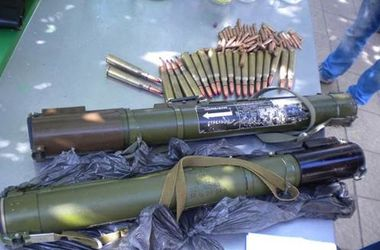 В Славянске задержали вооруженных гранатометами боевиков
