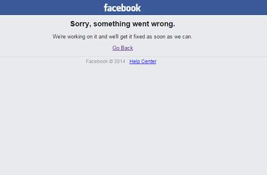 Facebook неожиданно дал сбой по всему миру