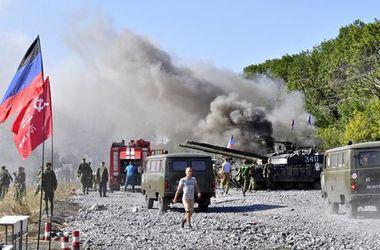 В сети появилось фото момента жуткой трагедии на танковом биатлоне боевиков