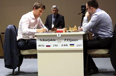 Павел Эльянов сыграл вничью первый полуфинал Кубка мира