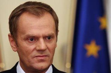 Туск назвал аннексию Крыма главным вызовом Европы