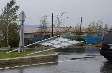 Мощный ураган на Сахалине: появились первые жертвы