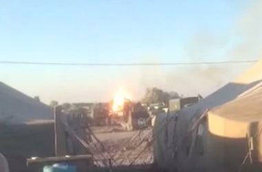 В Днепропетровской области в воинской части взорвался танк