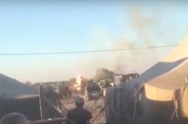 Военные рассказали подробности взрыва танка под Днепропетровском