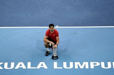 Теннисист Давид Феррер выиграл свой 25-й трофей в карьере