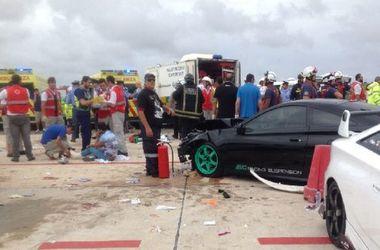 На Мальте во время автошоу Porsche на огромной скорости врезался в толпу
