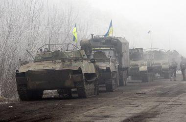 Военные рассказали, какое вооружение отводят от линии разграничения