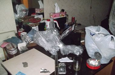 В Киеве милиция накрыла нарколабораторию с амфетамином